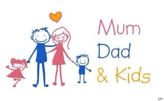 LOGO MUM DAD KIDS